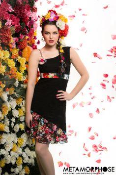 Collection Printemps/Été 2014 Spring/Summer 2014 collection #summer #handmade #fashion #creationsmetamorphose #fashionflowers