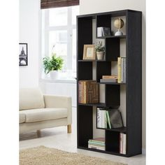 Furniture of America Channary Vintage Walnut Multi-shelving Bookcase-Display Unit | Overstock™ Shopping - Great Deals on Furniture of America Media/Bookshelves