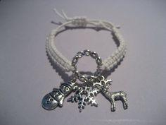Frozen Inspired Charm Bracelet by SilverThornCharms on Etsy