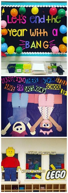 End of the school year bulletin board ideas - so fun for a countdown to summer! End of the school year bulletin board ideas - so fun for a countdown to summer! Summer Bulletin Boards, Preschool Bulletin Boards, Classroom Bulletin Boards, Bulletin Board Ideas For Teachers, April Bulletin Board Ideas, Bullentin Boards, Counselor Bulletin Boards, Kindness Bulletin Board, Nurse Bulletin Board