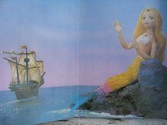 the little mermaid golden press 1966 - Google Search
