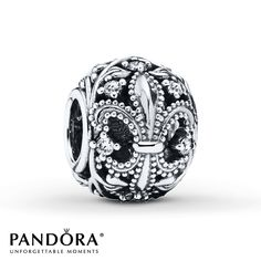 Pandora Charm Fleur-de-Lis Sterling Silver