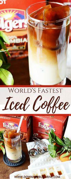 World\'s Fastest Iced Coffee Recipe | Iced Coffee | Iced Coffee Recipe | Easy Iced Coffee Recipe | Cold Brew | Cold Brew Coffee | Cold Coffee | Cold Coffee Recipe | Iced Latte Recipe | Down Redbud Drive #icedcoffee #ad #fromwhereisip #AlwaysTheBestPart via @DownRedbudDrive