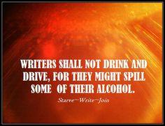Starving Writer Commandment