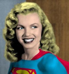 MARILYN MONROE as SUPERGIRL