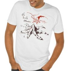 The Lonely Mountain Shirt the hobbit