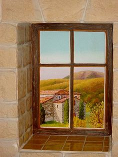 trompe l oeil trompe l oeil other murals wall murals window and walls