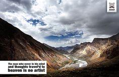 Heaven is no artist