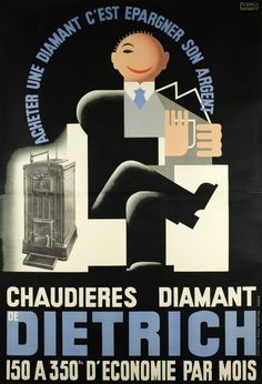 Chaudières Diamant Dietrich 1930