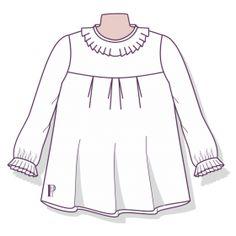 Patrones Técnicos Online - Tienda online de patrones - Patrones a medida Lana, Long Sleeve, Sleeves, Tops, Women, Fashion, Templates, Shirt Patterns, Pdf Sewing Patterns