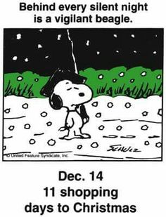 Dec 14 - This is a classic countdown panel from 1997 - I think this portrait was painted when Snoopy was visiting Colonial Williamsburg. Days To Christmas, Peanuts Christmas, Charlie Brown Christmas, Charlie Brown And Snoopy, Christmas Quotes, Christmas Countdown, A Christmas Story, Peanuts Cartoon, Peanuts Snoopy