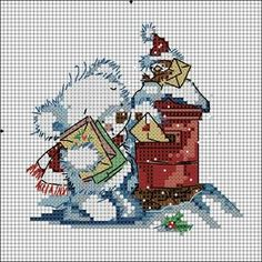 Thrilling Designing Your Own Cross Stitch Embroidery Patterns Ideas. Exhilarating Designing Your Own Cross Stitch Embroidery Patterns Ideas. Xmas Cross Stitch, Cross Stitch Charts, Cross Stitch Designs, Cross Stitching, Cross Stitch Embroidery, Embroidery Patterns, Cross Stitch Patterns, Loom Patterns, Theme Noel