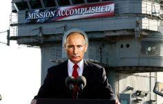 SACH BHARAT: Has Putin Felt the Pain of Channeling Bush Failure...