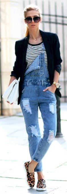 Macacão jeans,alpargatas