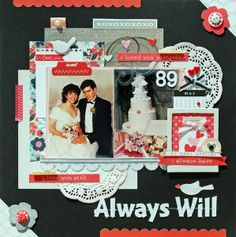 A Project by Lisa Swift from our Scrapbooking Gallery originally submitted 01/29/13 at 05:50 AM