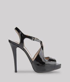 Emporio Armani Patent Leather High Heeled Sandals #Accessories #Shoes (a favourite repin of VIP Fashion Australia www.vipfashionaustralia.com - Specialising in blacklabel fashion - womens clothing Australia - Italian fashion) What is your fashion style?