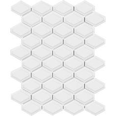 When bevel and mosaics meet... S-Series Convex Loft #Porcelain #mosaic tiles https://arizonatile.com/en/products/mosaics/porcelain-mosaics/s-series
