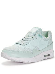 best sneakers 0d231 83d07 Nike Air Max 1 Ultra Essential Fashion Shoe - Turquoise   very.co.uk