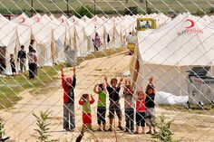What if these were your children...behind fences?  Syrian Refugees #Give4Hope GAiNUSA.org/givehope