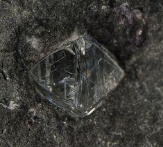 Diamond in matrix ~ Sedibeng Diamond Mine, Windsorton, Dikgatlong, Frances Baard, Northern Cape Province, South Africa