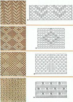 A whole site of beautiful, vintage, filet crochet patterns. Perfect for curtains. ༺✿ƬⱤღ  https://www.pinterest.com/teretegui/✿༻