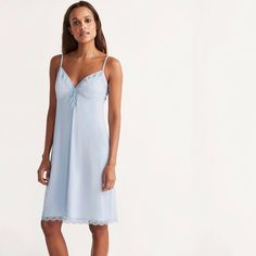 Other Women's Intimates Clever Bnwt Rosie For Autograph Oyster Pure Silk Chemise 10 Rrp £55 Lace New Gift
