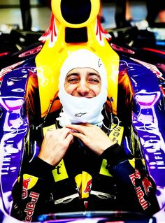Daniel Ricciardo. I don't think it's even possible to dislike this guy! :)