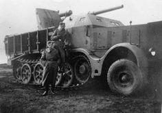 8 cm Flak 18 (Sfl.) auf Zugkraftwagen 18t sdkfz 9 AT Gun