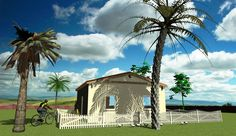 ´solith´ (low-cost) 41 m² with saddle roof Low Cost Housing, Architecture Visualization, Affordable Housing, Mansions, House Styles, Home Decor, Mansion Houses, Homemade Home Decor, Manor Houses