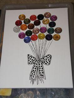 tableau capsules nespresso bouquet de ballon