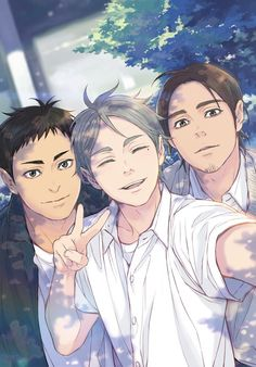 Suga, Daiichi, and Asahi (I really, really don't want them to leave in the second season)