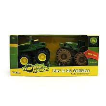 John Deere Rev Rumblers 2 Pack - Tractor and Dump Truck