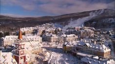 Mont Tremblant  was named one of the four best ski resorts in Canada #Tremblant