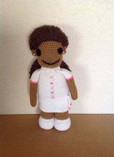17  Ethnic Doll  Cheerful African American by eHarvestJewelries