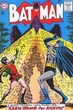 BATMAN #167!  Great Infantino Cover!