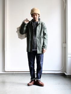 Japanese Outfits, Japanese Fashion, Smart Casual Menswear, Style Masculin, Engineered Garments, Men Looks, Cool Outfits, Normcore, Mens Fashion