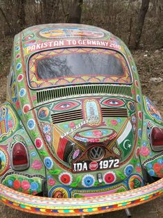 This VW bug is too trippy for words
