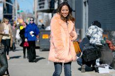 New York Fashion Week осень-зима 2015/16: Street Style (Часть 2)