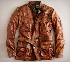 """It doesn't get any better than this! Belstaff """"panther"""" is absolutely one-of-kind!!"""