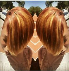 Colors mixed and blended well Oh my ...that cut!