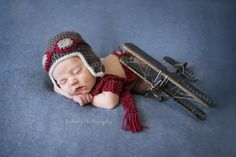 newborn, airplane nursery, aviator set, baby pilot, newborn photography, orlando photography, mckeeby photography
