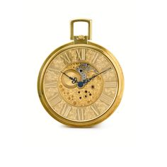 Jaeger-LeCoultre Slim yellow gold open faced keyless pocket watch    circa 1980