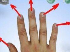 Každý prst představuje nějaký orgán! Pokud je budete masírovat dokážete se zbavit těchto problémů Beauty Makeup, Health Fitness, Therapy, Fitness, Gorgeous Makeup, Health And Fitness