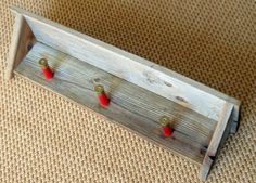 Rustic Shelf with Shot Gun Shell Hooks (I bet I could talk the husband into making this, no problem) Shotgun Shell Crafts, Shotgun Shells, Rustic Shelves, Wood Shelves, Hunting Crafts, Bullet Crafts, Camo, Barn Wood, Home Projects