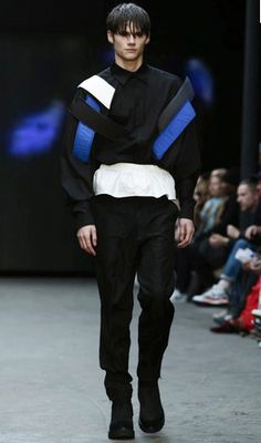 MFI | Fabian Gray for Christopher Shannon  LCM AW15