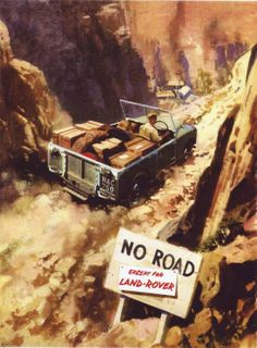 Classic Land Rover Advertise