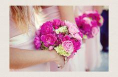 Vibrant Magenta Wedding Inspiration   OneWed