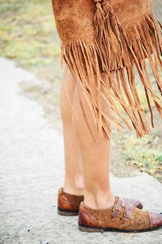 Tan shoes #styleovercoffee #tan #shoes #brouges #fringes