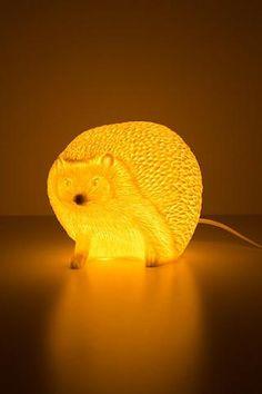 glowing hedgehog lamp