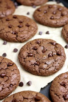Double Chocolate Cheesecake Cookies